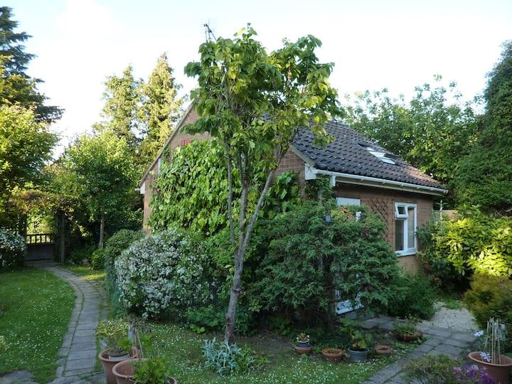 Cosy private studio in idyllic garden, Oxford