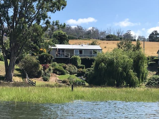 Back view of house from the river.