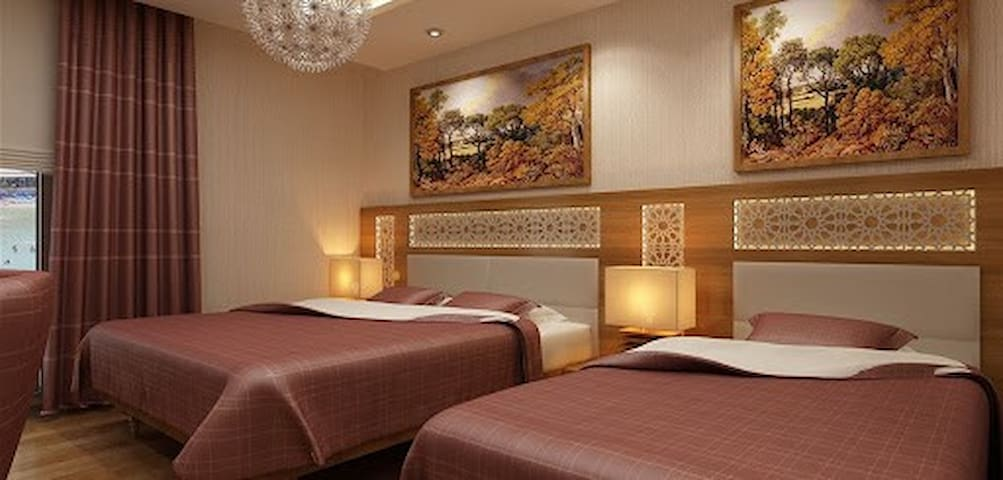 unlimited breakfast and comfortable room
