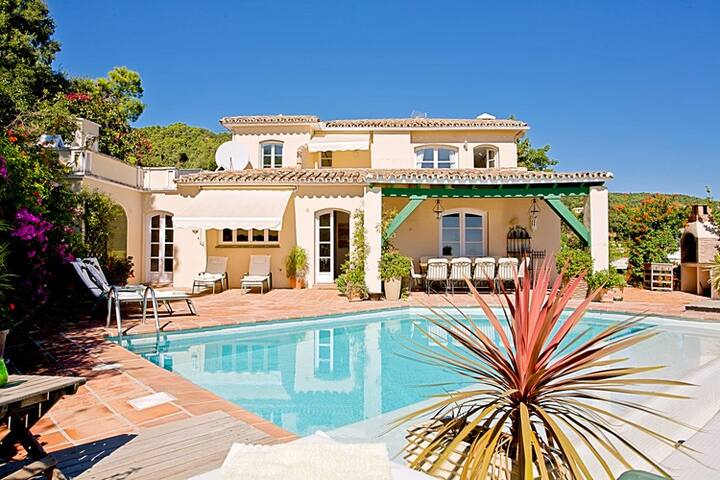 views, luxury, beach,Marbella hills - Benahavís - Hus