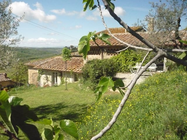 Beautiful rural retreat in Chianti - Badia A Passignano