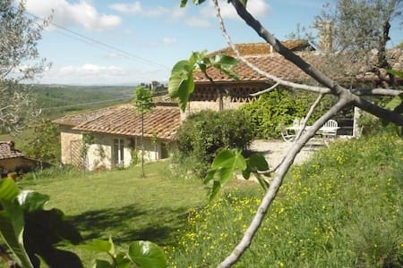 Beautiful rural retreat in Chianti - Badia A Passignano - 独立屋