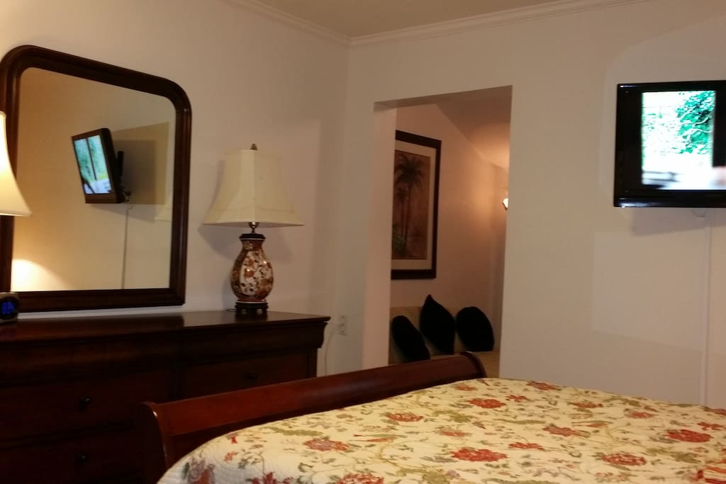 French country bedroom for short or long term rental.