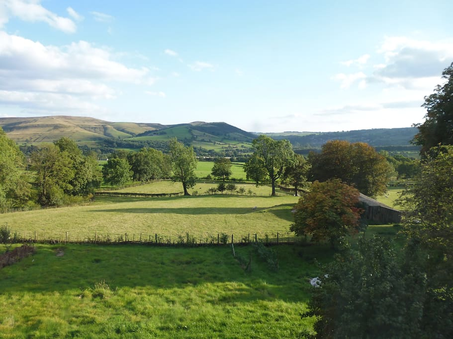 Superb views of the Hope Valley