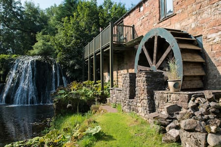 The Mill, Rutter Falls, - Great Asby - Casa