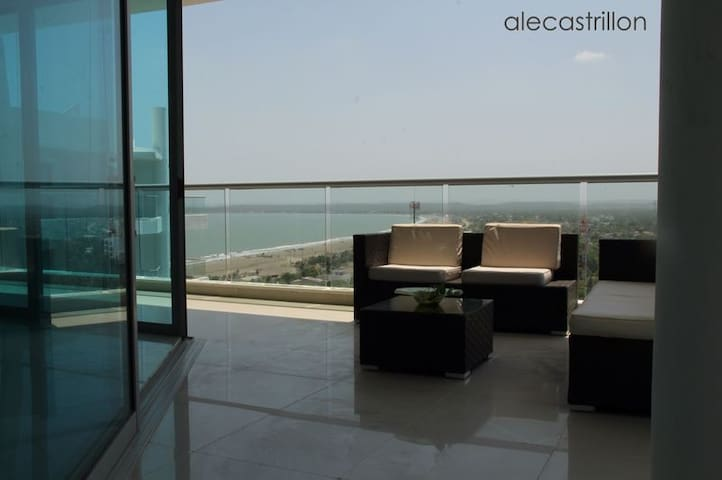Sea view & Comfort for a Big Family - Cartagena - Pis