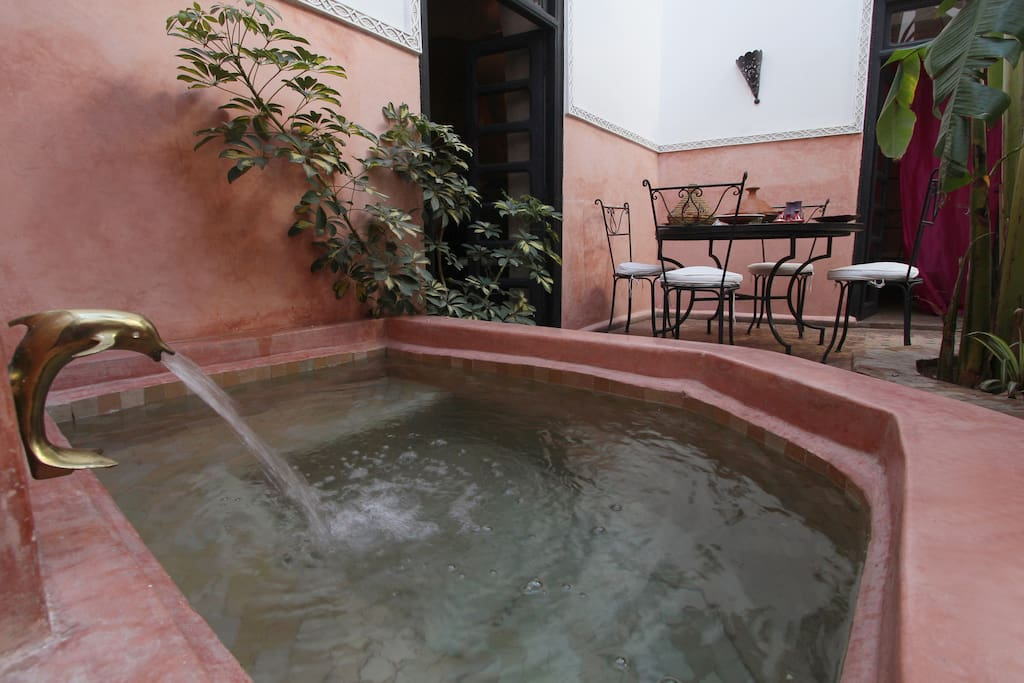 riad 10 pers. medina of Marrakech,