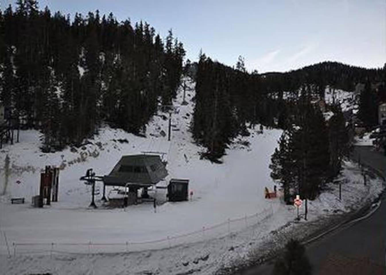 SKI in SKI out Stagecoach Ski Lift