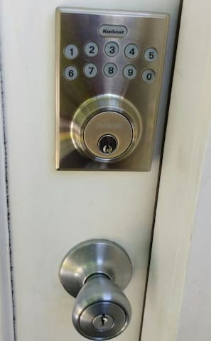 Keypad for ease in entry