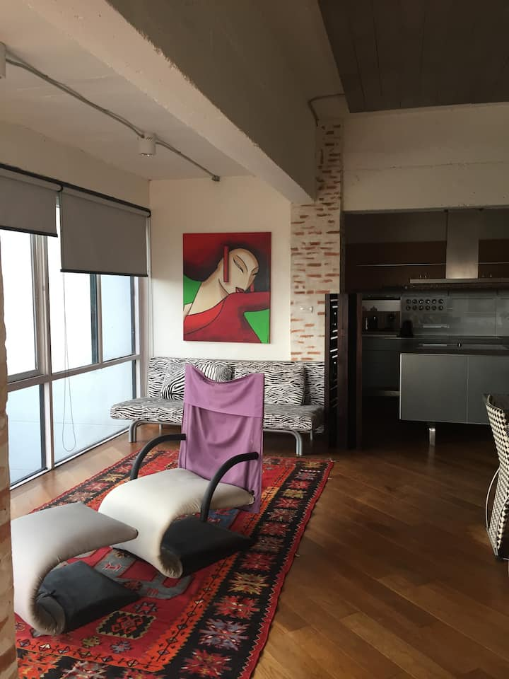 Loft on River in Chiang Mai city