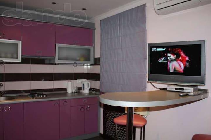 Уютная квартира в Киеве на берегу реки Днепр
