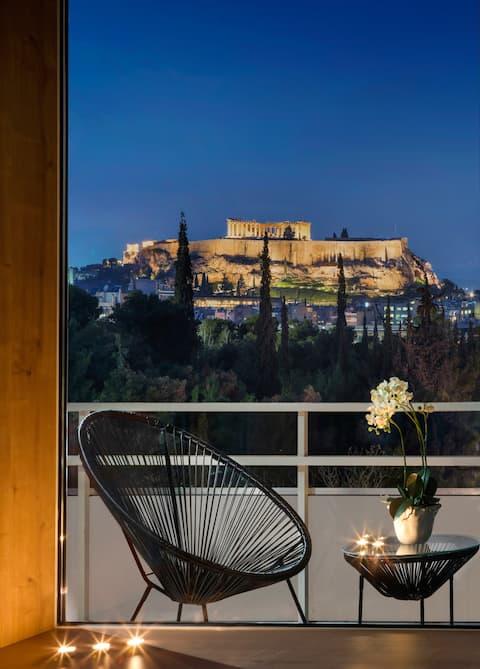 Akropolis View Homey #1   i hjertet av Athen