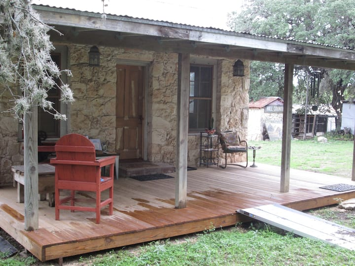 Quirky, Rustic San Antonio Hill Country Lodge