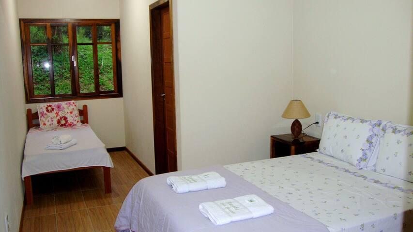 Pousada Doce Encanto - Suite Dupla - Santa Rosa de Lima - Bed & Breakfast