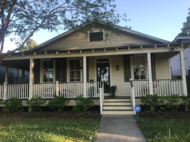 Cozy MidCity Bungalow/2miles from LSU & Downtown