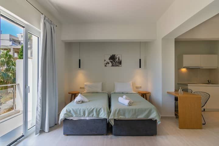Cozy studio near the beach & amenities, Plakias 3