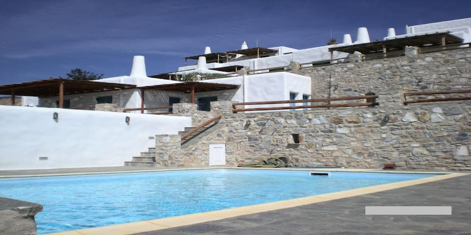 Villa Paros SunSet - Agkeria - Casa
