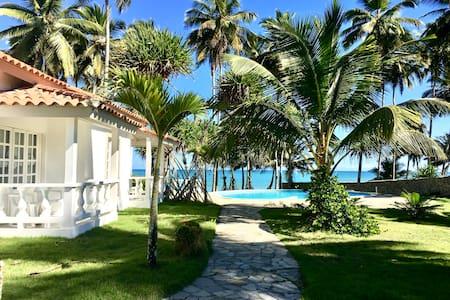 VILLA MARGOT: Beachfront villa near Cabarete!