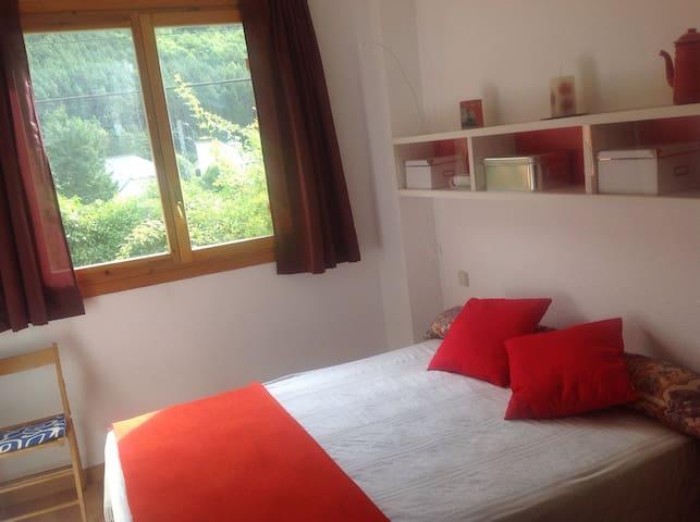 Acogedor apartamento con vistas - Canfranc Estación  - Wohnung