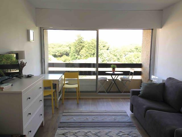 Studio-cabine donnant sur le Port Ostréicole