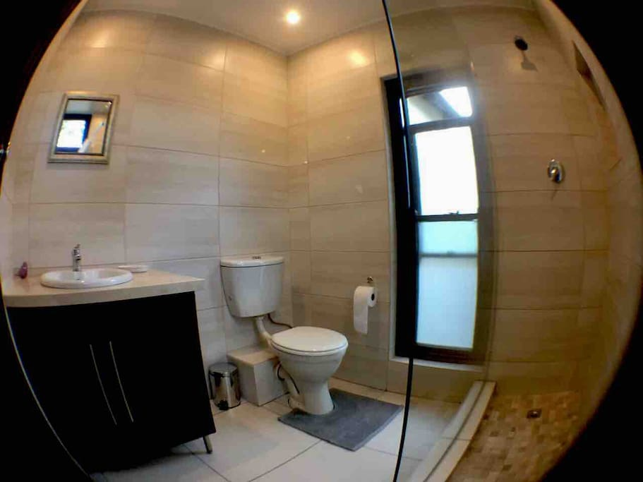 On suite bathroom with shower