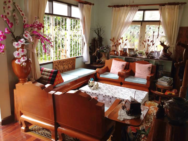 Garden Home in Thoen City, Lampang