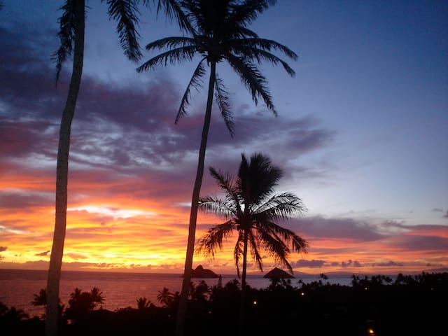 Lanikai Stunning Sea View Studio - Kailua - Huis