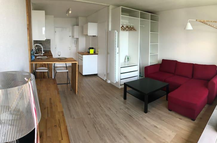 Un studio spacieux et moderne