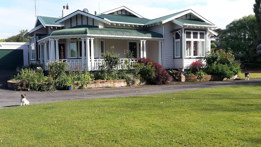 Te Pohui Homestead Bed and Breakfast - Marton - Bed & Breakfast