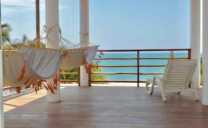 Casa de Playa Vichayito Relax Frente al Mar