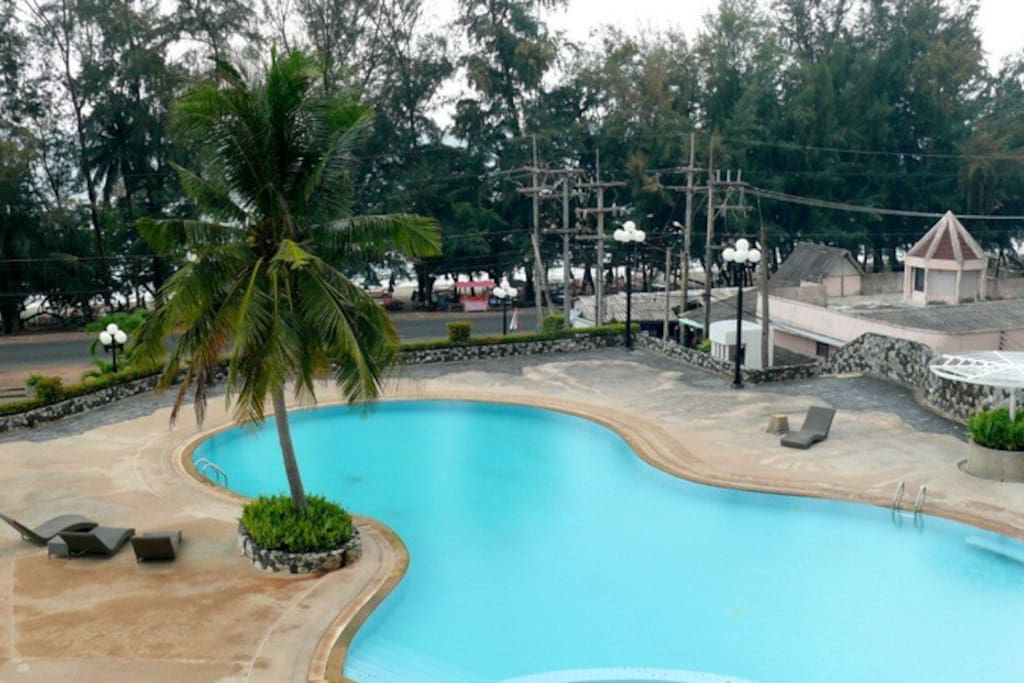 Largest Swimming Pool on Mae Rum Pueng Beach