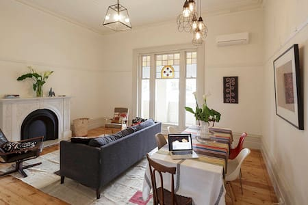 2BD - Stylish Spacious Grand Victorian Apartment - Elsternwick - アパート