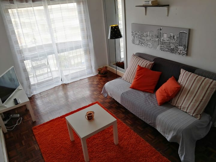 2-room appartment in Gaia with an amazing view
