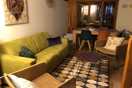Louons chalet mitoyen avec jardin privatif