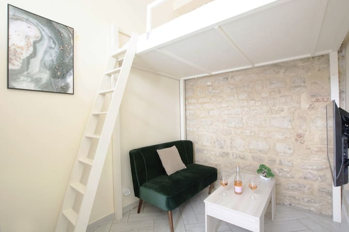 GuestReady - Cosy Studio with Loft - La Marais