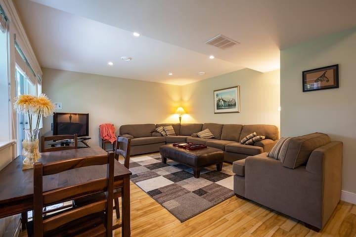 Private suite near U Vic and Cadboro Bay Beach.