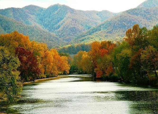 Modern apartment on whitewater river. - Chuckey - Apartament
