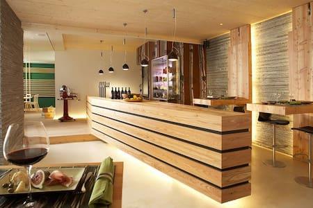 Hotel Talblick an der Skipiste - Hinterglemm - Bed & Breakfast