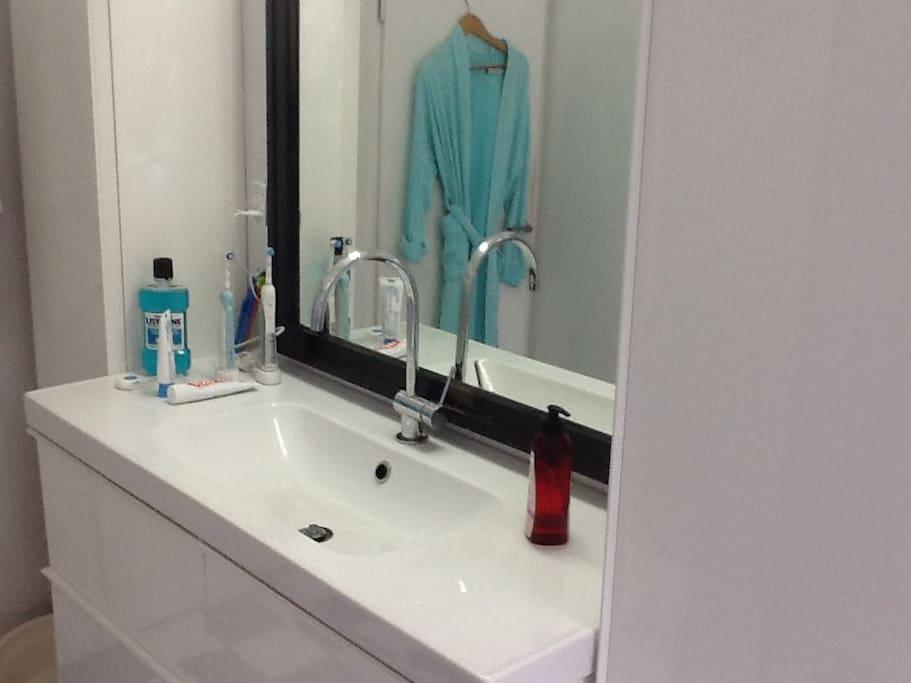 Elegant and comfortable bathroom
