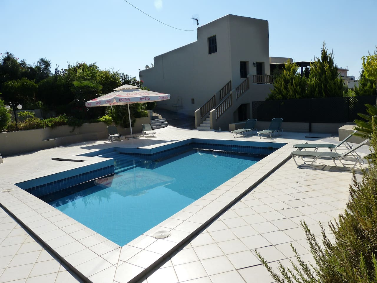 Summer time fresh water pool