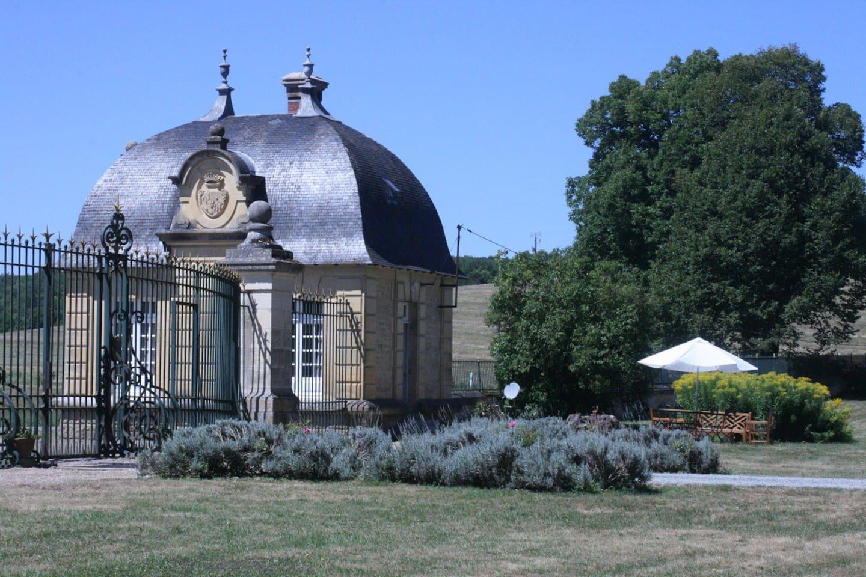 le gîte des grilles du château de Prye
