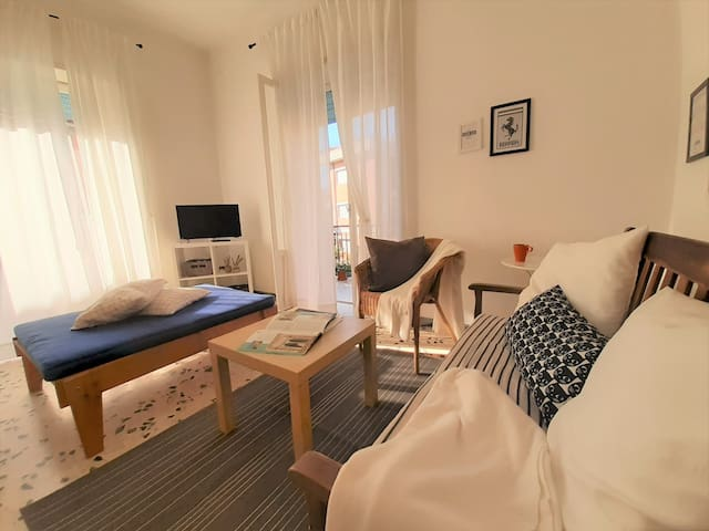 Holiday apartment at the sea between Rome/Naples