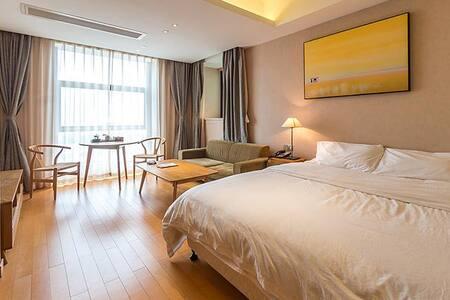 坤城汤岸温泉酒店公寓 - Xiamen - Εξυπηρετούμενο διαμέρισμα