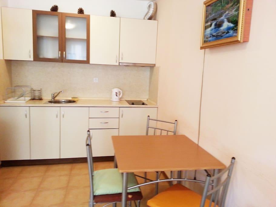 the kitchen :)