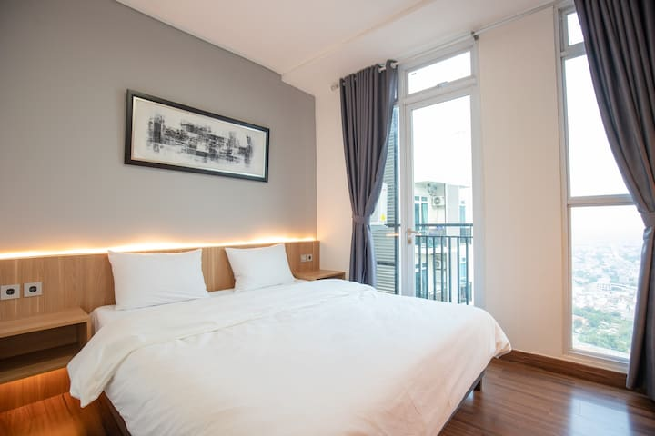 Fully Decorated One Bedroom at Puri Orchard