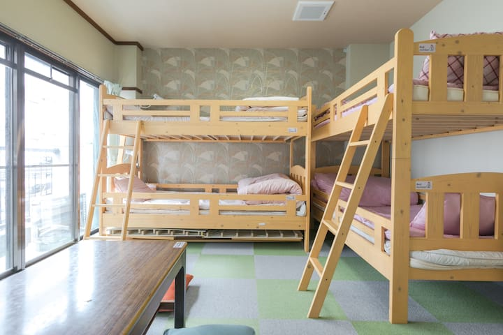Near Fushimi Inari / Room for a group of 4 people