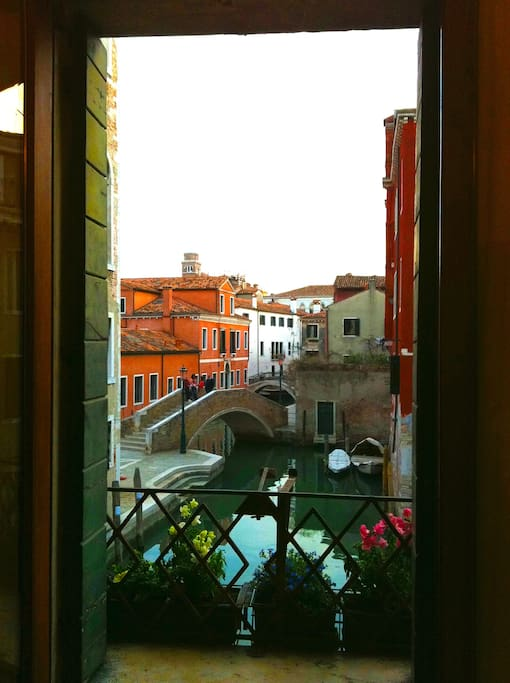 Magic view inside Venice.