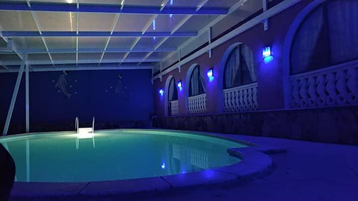 Finca tropical con piscina totalmente privada!