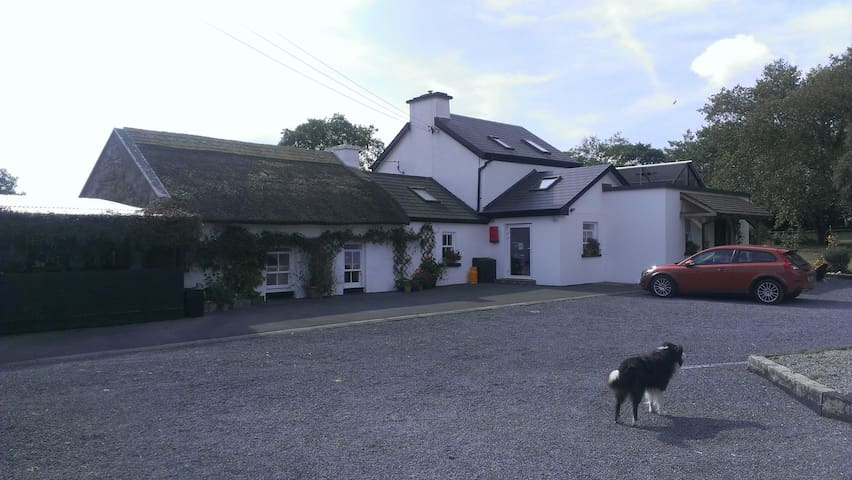 Adjoining thatched residence, animal friendly