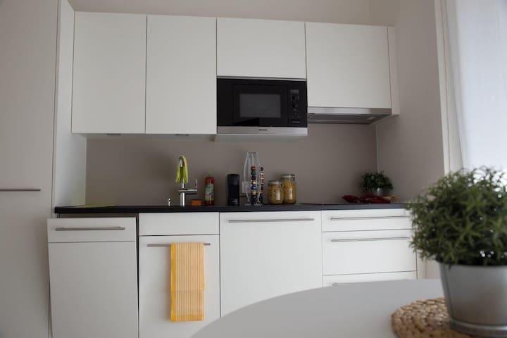 Studio mit Küche und Dusche #4